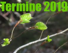 Wichtige Termine im Gartenjahr 2019